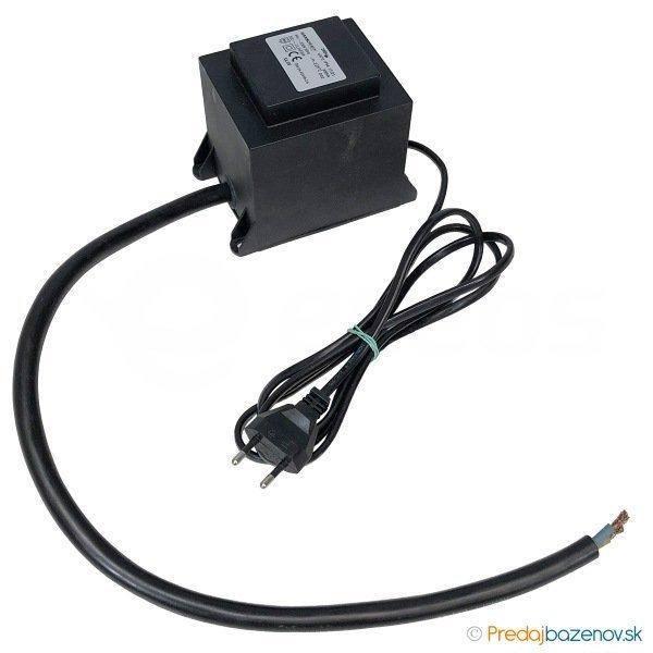 Bazénový transformátor pre svetla 200 W ochrana proti striekajúcej vode