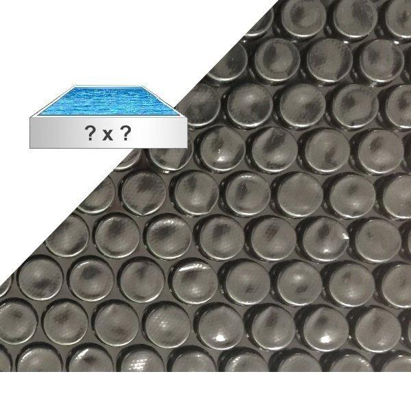 Solárna plachta 360 mikrónov čierna
