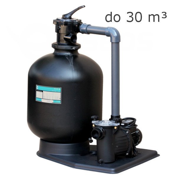 Bazénová piesková filtrácia Kit 380