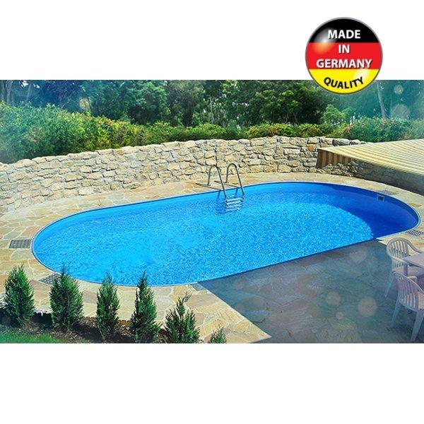 Zapustený Bazén Toscana Ovál 7 X 35 X 12 M