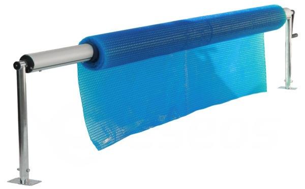 Výškovo nastaviteľný naviják na solárnu plachtu