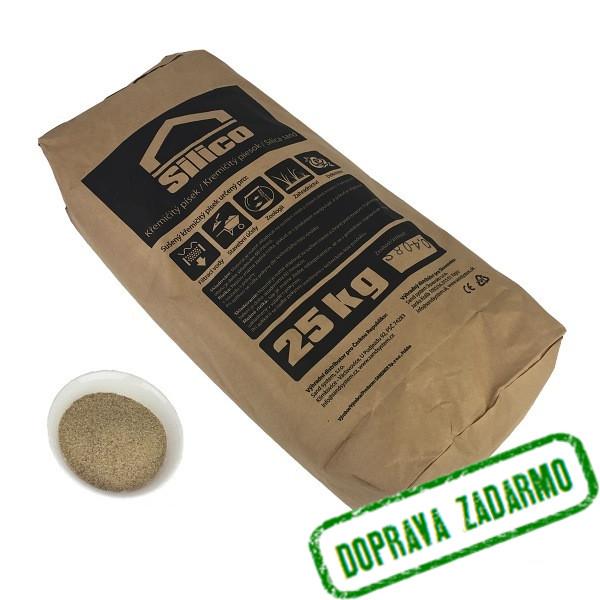 110c691c210f0 Filtračný piesok 25 kg 0,4 - 0,8 mm