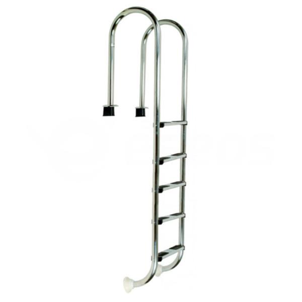 Bazénový rebrík nerezový úzky 5 stupňov
