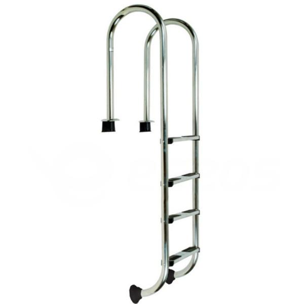 Bazénový rebrík nerezový úzky 4 stupne