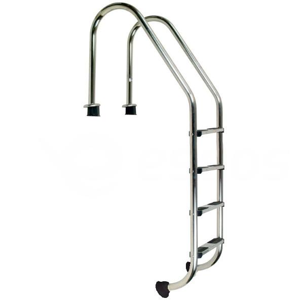 Bazénový rebrík nerez Standard 4 stupne Slaná voda