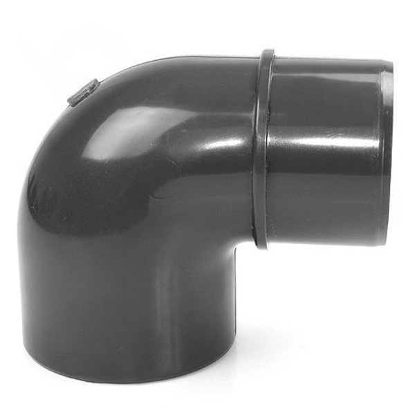 Koleno 90° PVC 50 x 40 mm lepenie / lepenie