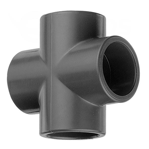 Kríž 90° PVC 50 mm lepenie / lepenie