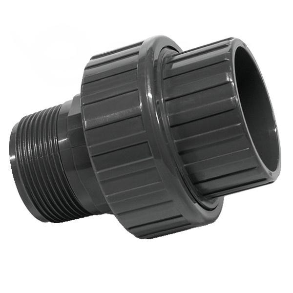 """Šróbenie PVC 50 mm lepenie/vonkajší závit 1 1/2"""""""