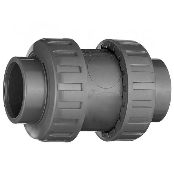 Bazénová spätná klapka PVC 50 mm lepenie / lepenie