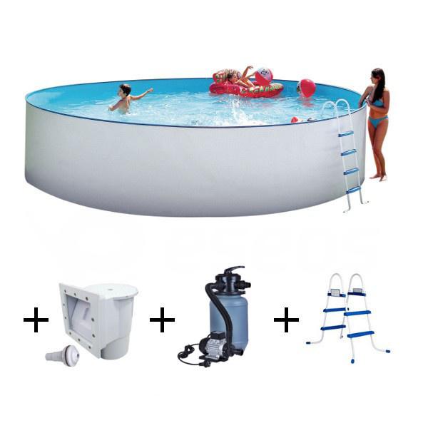 Nadzemný bazén Nuovo 3,5m s filtráciou