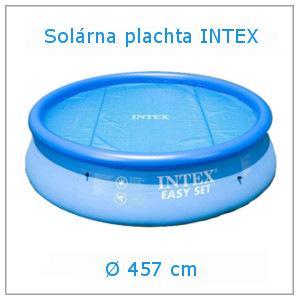 Solárna plachta INTEX na bazén 457 cm