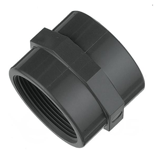 """Spojka PVC trubiek 50 mm lepenie / vnútorný závit 1 1/2"""""""