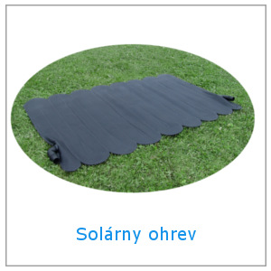 Solárny ohrev pre nadzemné bazény